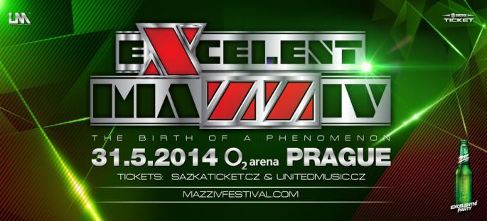 Excelent Mazziv Festival - Nowy wielki projekt w Pradze !